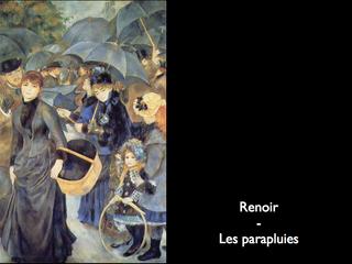 Renoir - Les parapluies