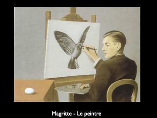 Magritte - Le peintre